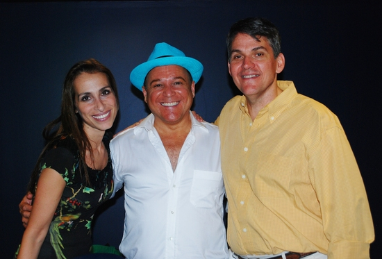 Rose Caiola (Book Writer/Producer), Steve Webber (Musical Director) and Buddy Crutchfield